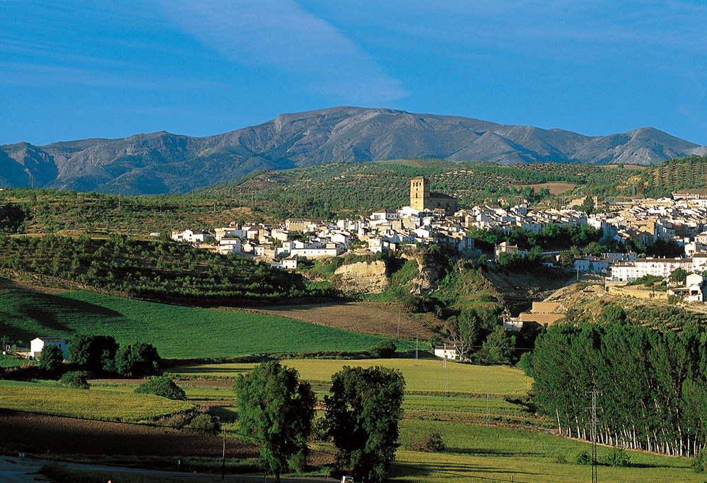 Cycling from Granada to Ronda
