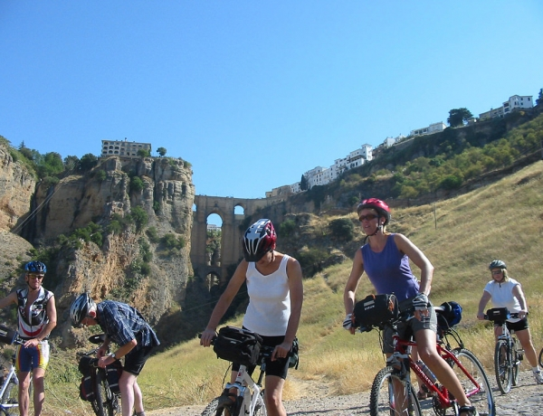 Cycling from Granada to Ronda