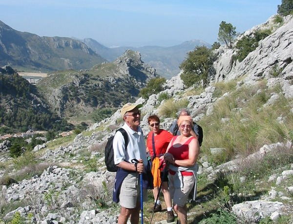 Hiking through the Grazalema Nature Park