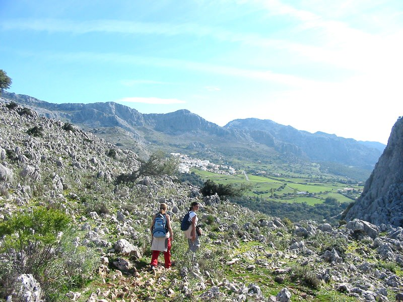 Walking between Ronda and Tarifa (Almoravids' Route)