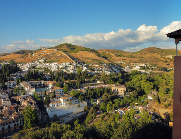 Walking around Granada: Sacromonte and Albayzin