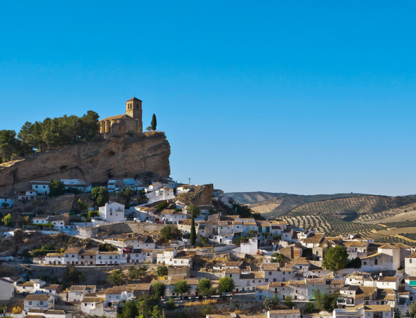 The Washington Irving Route cycling from Seville to Granada