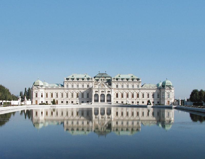 Viena, Oberes Belvedere