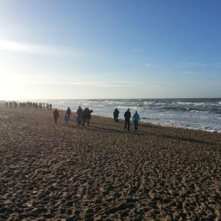 En busca de la luz, Playa en Noordwijk aan Zee, Holanda