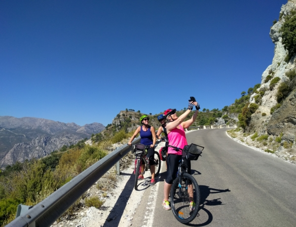 Cycling from Granada to the Tropical Coast