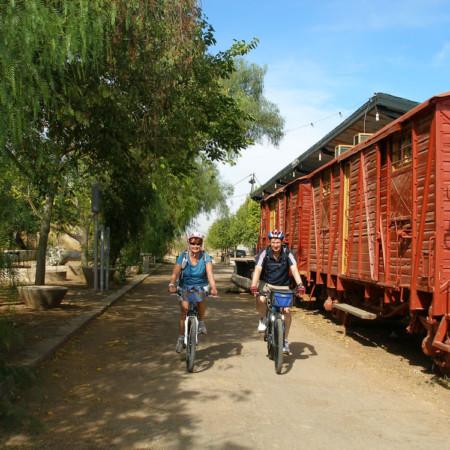 Route of the Caliphate on a bike (Estacion De Luque)