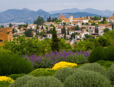Short break to Granada; Alhambra, tapas, walking or cycling