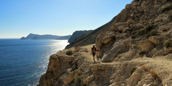 Volcanoes, gold mines, westerns and wild cliffs in Cabo de Gata (hiking)