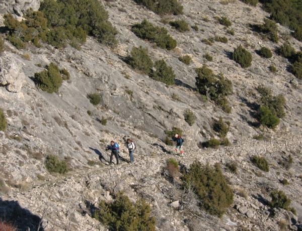 Sierra De Segura. Sendero Del Puntal De Los Canteros