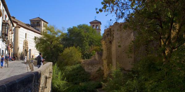 Opposite the Alhambra