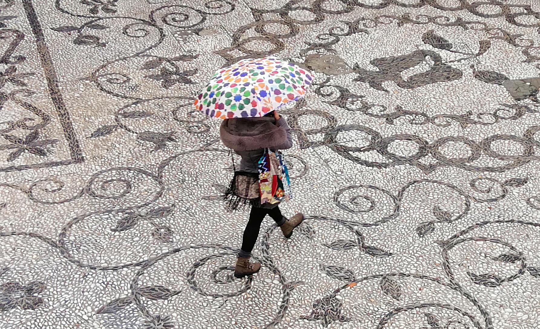 Cobbled Streets Granada