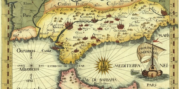 Old Map of Andalusia