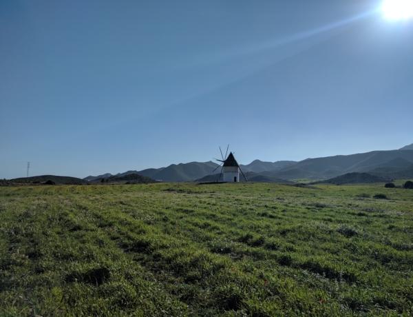 Wind Mill Cabo De Gata