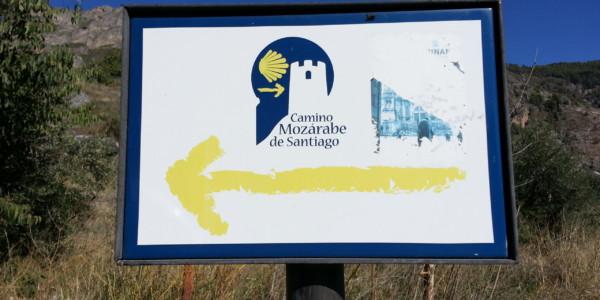 Mozarab Way to Santiago de Compostela (St James)