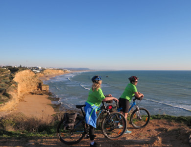 "Cycling along the ""Coast of the Light"" (Costa de la Luz)"